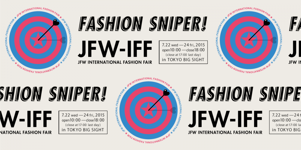 JFW-Internatinal Fashion Fair in TOKYO